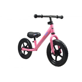 Kiddimoto Super Junior loopfiets Kinderen roze